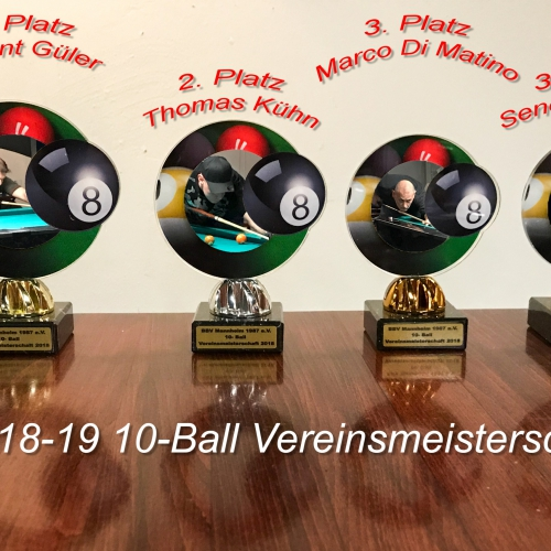Vereinsmeisterschaft 10-Ball