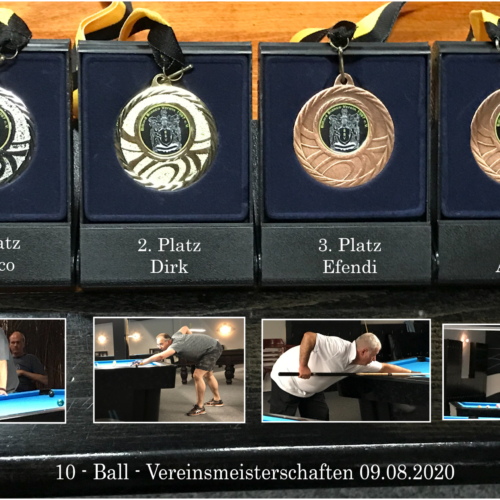 2019-20 10-Ball Vereinsmeisterschaft
